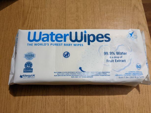 Chusteczki nawilżane Waterwipes opakowanie 60 sztuk