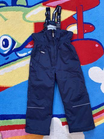 Детские зимние штаны комбинезона Lenne