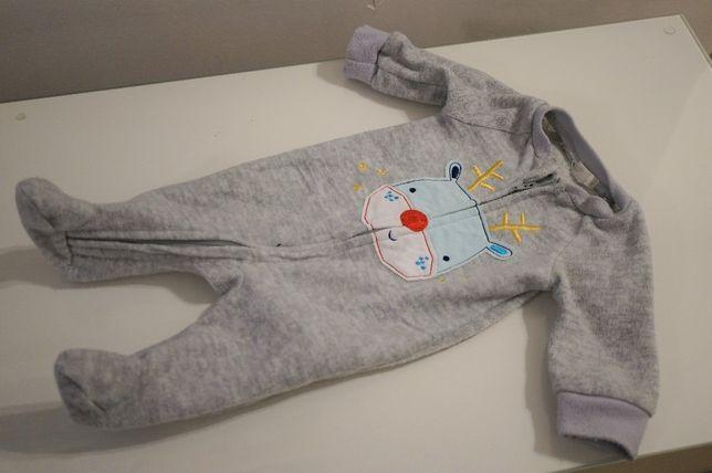Pajacyk piżamka dziecięca body Pepco 56 zimowa świąteczna