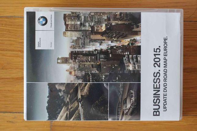 """DVD Business. 2015, GPS para BMW, """" só mapas da Europa de Leste""""."""
