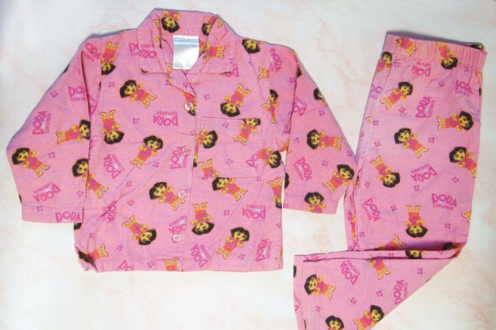 Пижама фланелевая Даша следопыт Дора 2-3 года Киев - изображение 1