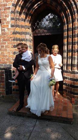 Suknia ślubna r. 36 moze 38
