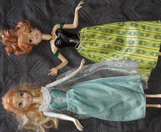 """Sprzedam lalki Anna i Elsa śpiewające firmy """"Mattel"""""""