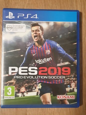 Gry PS4: Pro Evolution Socer PES 2019, DriverClub