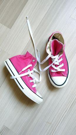 Детские розовые кеды converse оригинал
