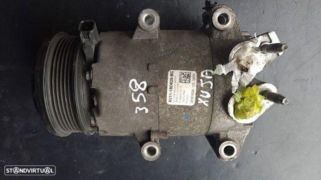 Compressor Ar Condicionado A/C Ford Fiesta 1.5 TDCI Ref: AV11-19D629-BC