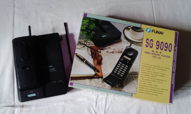Радиотелефон FUNAI SG 9090 на запчасти.
