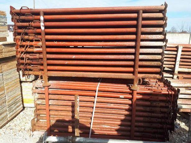 Stemple budowlane 1m; 3,2m; 3,6m; 4,5m; 5m, Podpory Dźwigar H20
