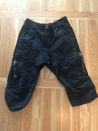 Spodnie rowerowe Endura Singletrack 3/4 rozm s