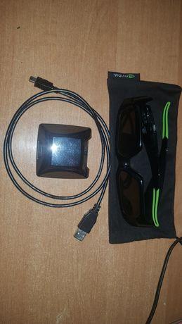 Комплект 3d очки NVIDIA  3D VISION