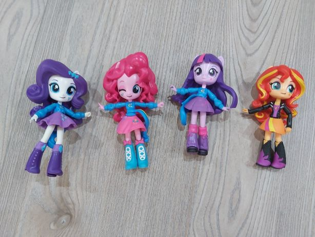 My Little Pony Equestria Girls laleczki