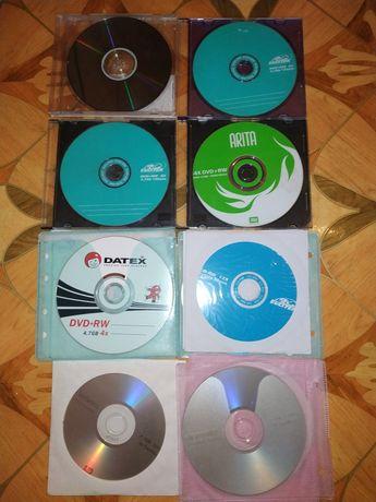 Чистые диски DVD-RW,CD за всё!