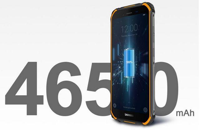 NFC 3/32Гб Doogee S40 защита IP68 5.5' IPS 18:9 4650мАч 2SIM 4G новый