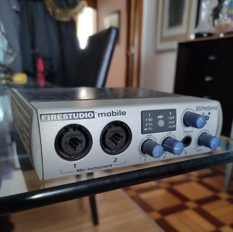 Interface áudio PreSonus Firestudio Mobile Interface