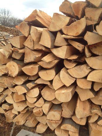 Drewno opałowe kominkowe buk brzoza dąb brykiet pellet