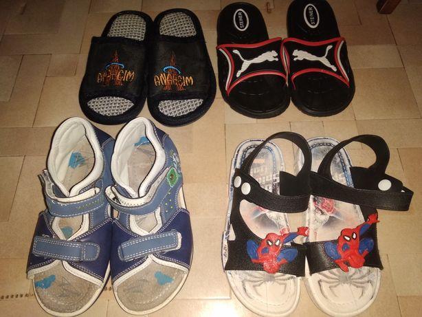 Обувь(тапочки, сапоги, ботинки, кеды, сандали)
