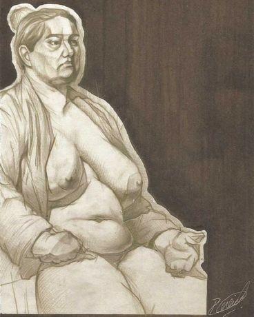 Desenhos anatómicos e/ou eróticos