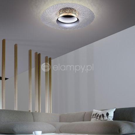Dekoracyjna lampa kinkiet srebrna chrom LED NEVIS ściemniacz Paul Neuh