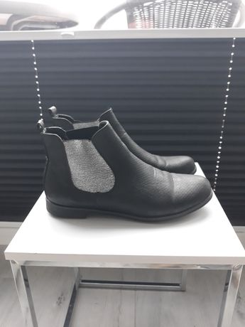 Buty sztyblety czarne