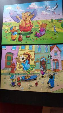 Big puzzle maxi 2 układanki