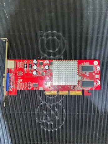 Ретро видеокарта ATI Radeon 9250 AGP 128MB/128bit (VGA/TV)