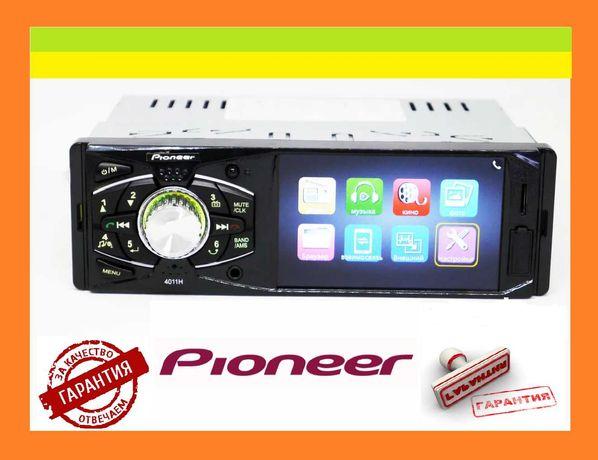 Автомагнитола MP5 Пионер 4011 экран (Bluetooth AV-in Пульт на руль)