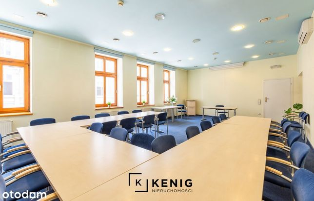 Klimatyzowany lokal - sala szkoleniowa, biuro