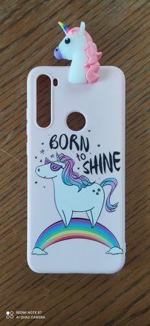 Etui silikonowe case Born to Shine Xiaomi Redmi Note 8T