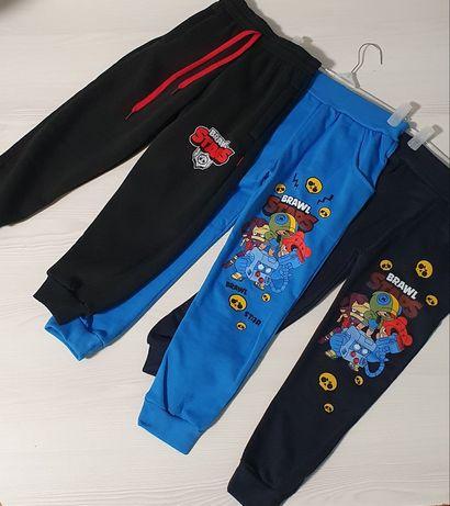 Теплые штаны с начесом  Brawl Stars от 2-14 лет