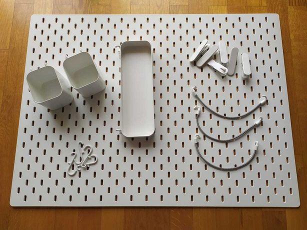 Quadro Placar com acessórios SKADIS IKEA