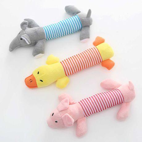 Brinquedos de pelúcia para cão