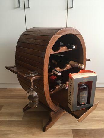 Stojak Barek na Wino Alkohol do Domu Restauracji Mieszkania Jedyny Tak