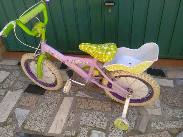 Bicicleta para menina até aos 7 anos