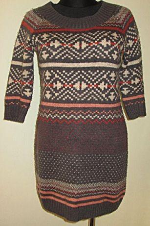 Sukienka tunika sweter ciepły roz 36 F&F