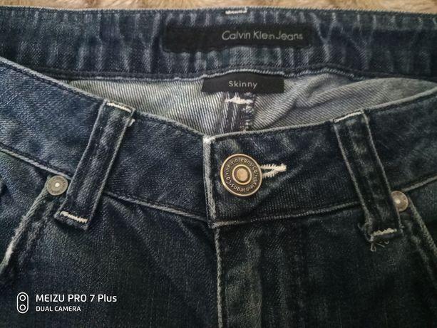 джинсы calvin klein w29 skinny. Оригинал