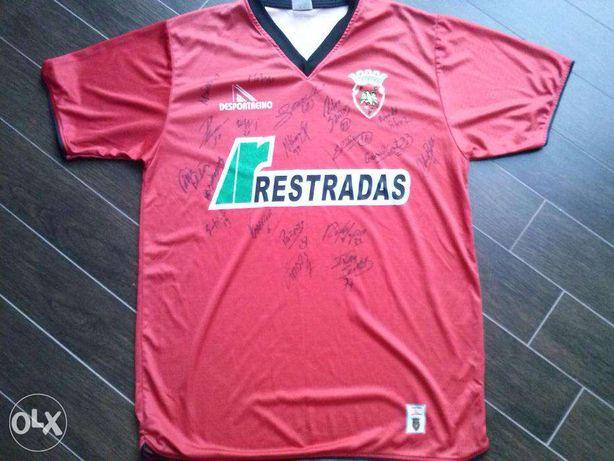 Camisola de jogo FC Penafiel - Pedrinha #8 - Assinada