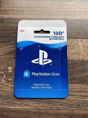 PlayStation Ps 4 Ps 5 Store Uzupełnij Portfel 100zł!