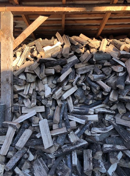 Дрова колотые купить  Бровары дрова сухие дубовые самовывоз Бровары Борисполь - изображение 1