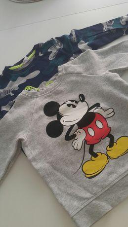 Bluzy chłopięce x2