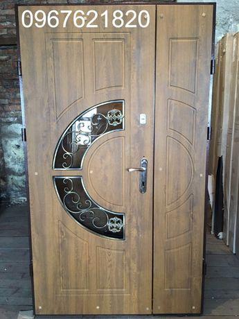 Металеві двері броньовані