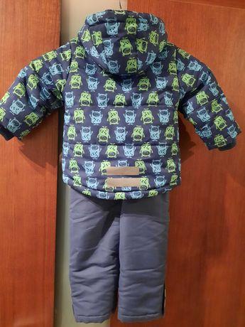 Komplet zimowy kurtka + spodnie smyk cool club r.80 (kombinezon 2 cz.)