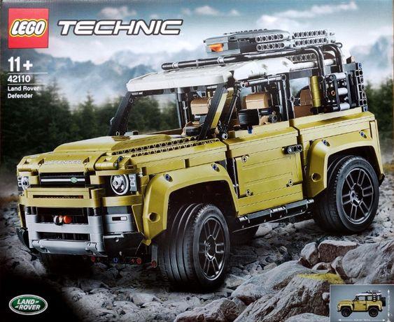 Lego Technic 42110 Land Rover Defender Warszawa
