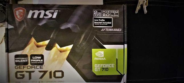 karta graficzna GeForce GT710 DDR3 2GB PCI -E 2.0 HDMI + DL +  DVI-D