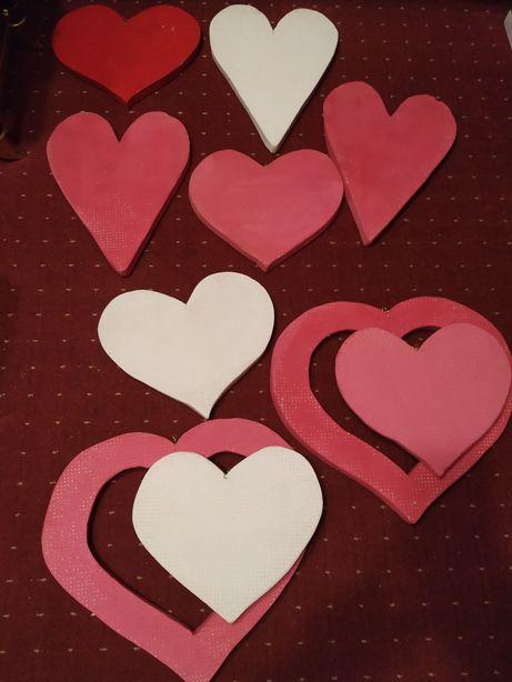 Подвесной декор Сердце для фотосессии, свадьбы, дня Валентина