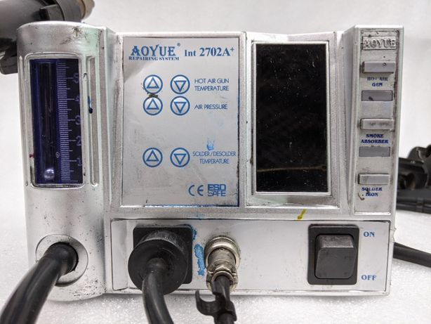 Термовоздушная паяльная станция для бессвинцовой пайки AOYUE 2702A+