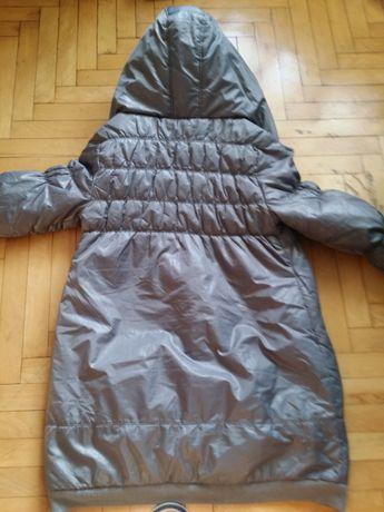 Dluga kurtka z kapturem XL