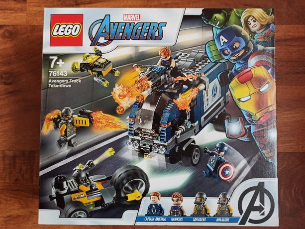 LEGO Marvel Avengers 76143 Zatrzymanie ciężarówki WYSYŁKA TYLKO 1 zł