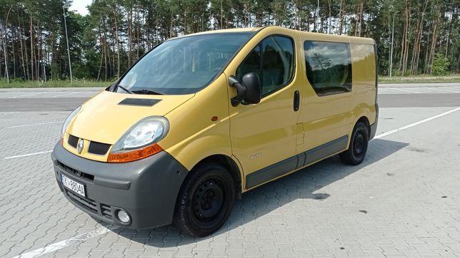 Renault Trafic 1.9 DCI brygadówka 5-osobowy holenderska zabudowa