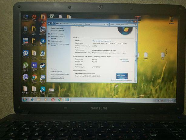 продам ноутбук samsung np r528 в рабочем состоянии