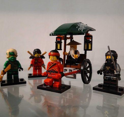 Lego Ninjago Figurki + Riksza